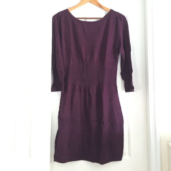 69% off Express Dresses & Skirts - Express purple sweater dress sz ...