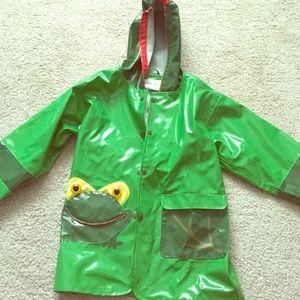 Kidorable Other - Kidorable frog Sz 4T rain jacket