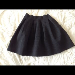 Fit and flare high waisted express skirt