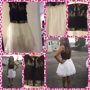 Dresses & Skirts - Like New Black & White Sleeveless Dress.
