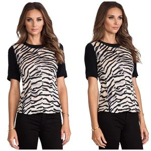 Rebecca Taylor Tops - Gorgeous Rebecca Taylor Tiger Top