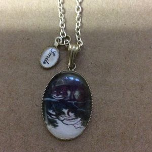 Jewelry - Cheshire Cat necklace.