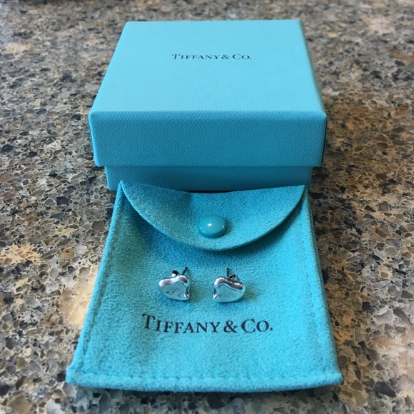 529da686a Tiffany & Co. Jewelry | Tiffany Co Elsa Peretti Full Heart Earrings ...