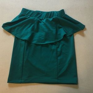Dresses & Skirts - Peplum Pencil Skirt