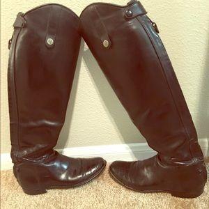 Custom Der Dau dress boots