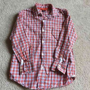 Gap Kids Button Down Long Sleeve Top, Boys Med 8