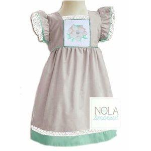 "NOLA Smocked Other - 🌸Linen ""Magnolia"" dress"