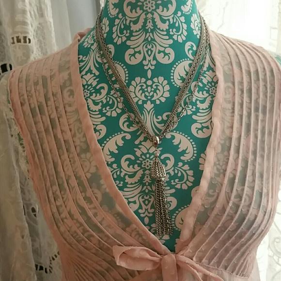 Vintage Jewelry - Vintage Tassle Necklace