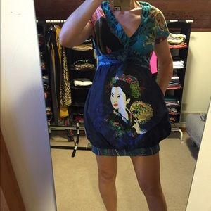Geisha Desigual dress