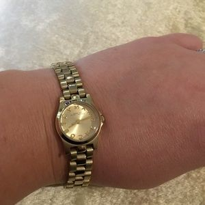 Marc by Marc Jacobs Gold Bracelet Watch