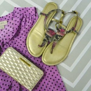 Jessica Simpson snake sandals