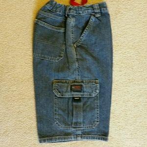 Wrangler Other - Wrangler cargo shorts in denim