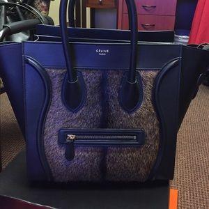 Celine Handbags - Celine Goat Gur mini luggage never used
