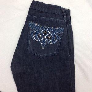 NWT sz 0 boot cut jeans