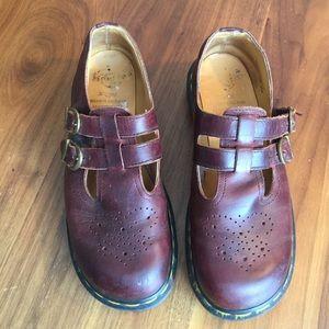 Dr. Martens Shoes - Dr. Martens T Strap Shoes