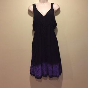 Summer Dress w/ Cutout Back Sz L