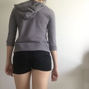 GUESS Sweaters - GUESS Cropped Hoodie