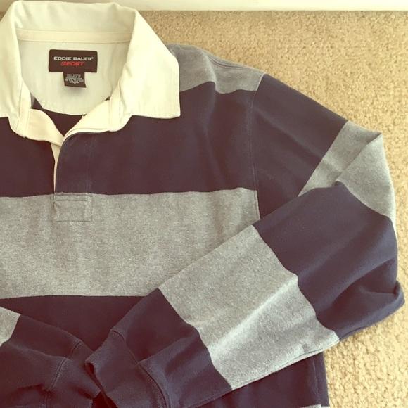 e59be449c2f Eddie Bauer Other - ✂ $8 MEN's Eddie Bauer Sport Rugby Shirt