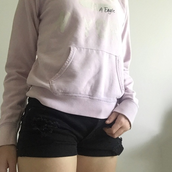 American Eagle Outfitters Tops - American Eagle Lilac Sweatshirt