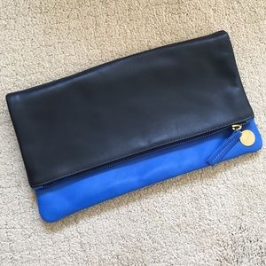 Clare Vivier Handbags - Clare Vivier two-tone clutch