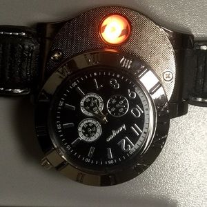 Other - WOW. Watch with built in lighter.   LAST ONE