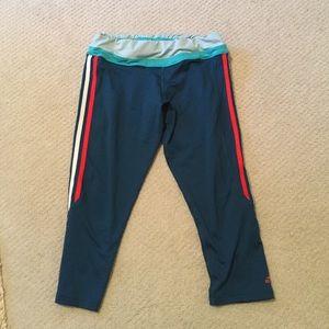 Adidas cropped workout leggings