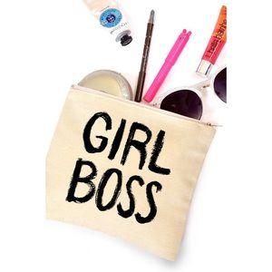 "likeNarly Handbags - ""Girl Boss"" Makeup Bag"