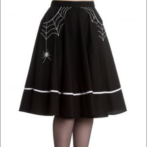 Hell Bunny Skirts - Hell Bunny Miss Muffet Pinup Skirt