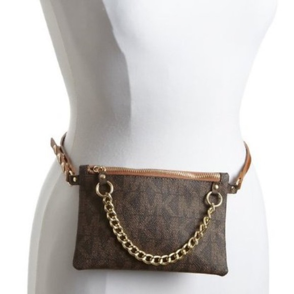 526928116b66 MK Michael Kors Logo Belt Waist Bag Fanny Pack. M_57a1346fbcd4a7de6a018429
