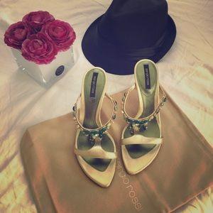 Sergio Rossi Shoes - NIB Sergio Rossi gem sandal