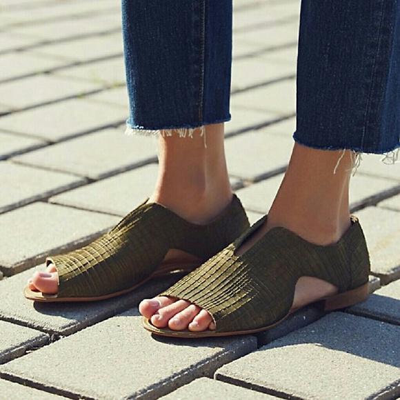 Free People Shoes Nwt Renley Slipon Poshmark