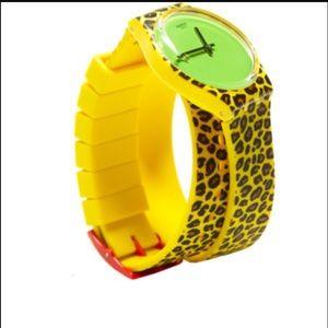 "Jeremy Scott Accessories - *RARE* ""Swatch Punk"" by Jeremy Scott unisex watch"