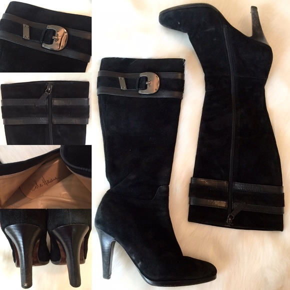 Cole Haan Nike Air Nicole Leather Boots