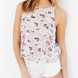 Urban Outfitters Ecote Floral Tank