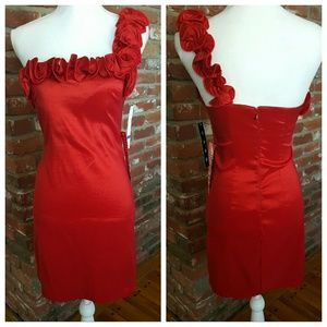 Snap Dresses & Skirts - 🆕 Sexy in Red Dress