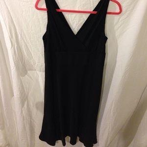 Black JCrew special occasion dress.