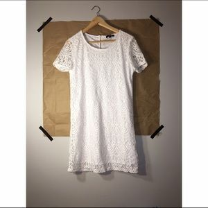 Brand new white lace dress