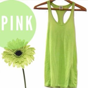 ✨today only SALE❗️PINK lime green tank