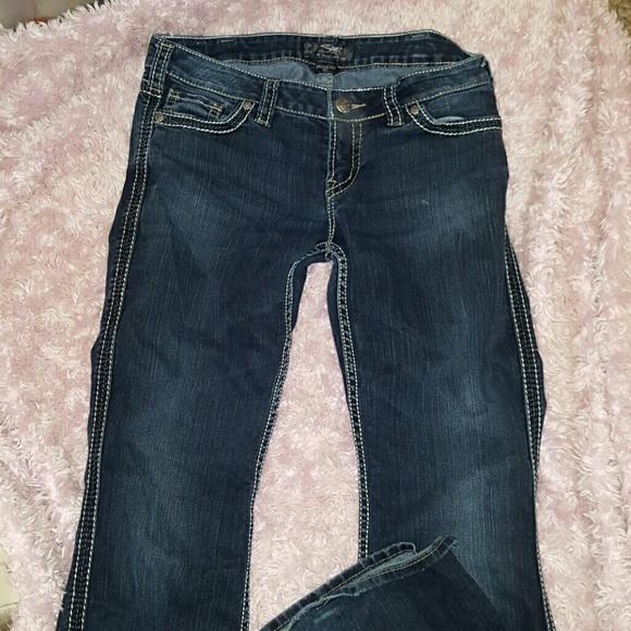 61% off Silver Jeans Denim - Silver Jeans Frances 22