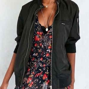 MEMBERS ONLY (Urban Outfitters) Black Bomber