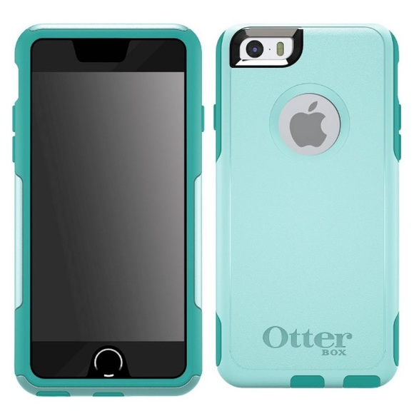 cheap for discount 4cad0 59ac5 Aqua Blue Commuter OtterBox for iPhone 6