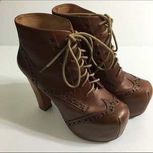 Jeffrey Campbell Shoes - Jeffrey Campbell Brown Litas