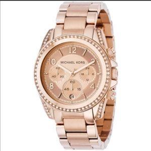 """Michael Kors Women's Rose Gold """"Blair"""" watch"""