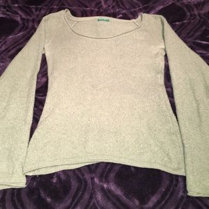 Benetton green sweater