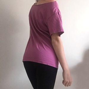 Tops - Purple T-Shirt