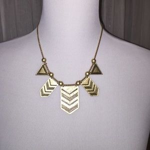 Triangle Statement Necklace!!