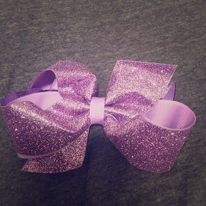 Wee Ones Accessories - Wee ones purple sparkle bow 💜💜