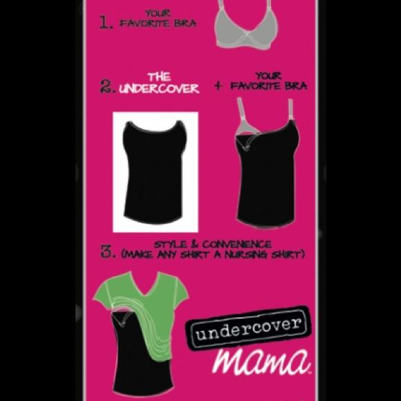 Undercover mama Tops - Slimming Nursing Top Cami Undercover Mama