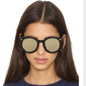 Karen Walker Accessories - Karen Walker mirrored Super Duper Strength
