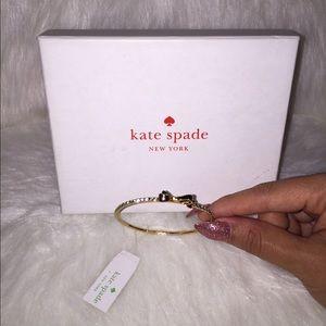 Kate Spade Diamond Ribbon Bracelet